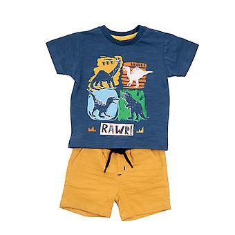 Baby Globe Boys 2-delars klädsats Dino's