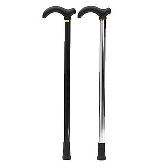 IPRee 2-Section Aluminum Folding Walking Climbing Sticks Adjustable Cane Ergonomical Handle 29-35Inc