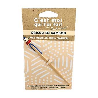 Oriculi Bamboo Earpicks 1 unit