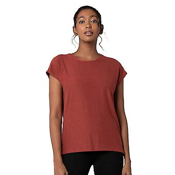 Women's Short Sleeve Moss Jersey Top with Relaxed Fit