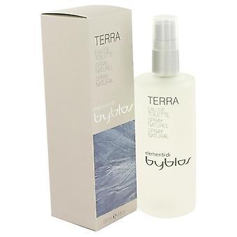 Byblos Terra Eau De Toilette Spray por Byblos 4,2 oz Eau De Toilette Spray
