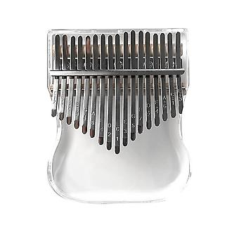 Crystal Transparent Kalimba Percussion Musical Instrument Acrylic Thumb Finger
