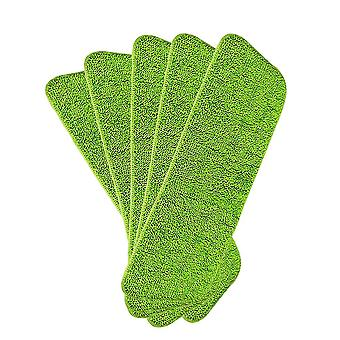 Mop replacement cleaning cloth, 5 sets, microfiber supplement cloth, washable cleaning cloth, deep cleaning replacement mop head