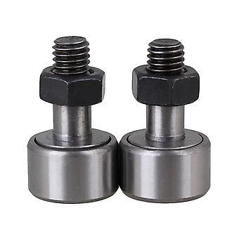 2 cuscinetti per aghi per camme PCS con rullo cilindrico Dia da 19 mm KR19