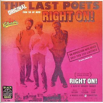 Last Poets - Right On! [CD] USA import
