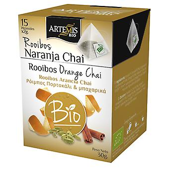 Herbes del Molí Rooibos Naranja Chai Piramide Eco 15 Filtros X 2G