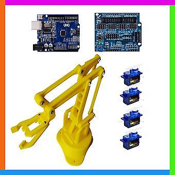 Ohjattu robottikäsi, Diy Electronic Education Project Kit, painettu