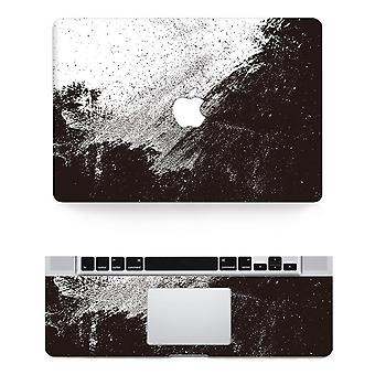 Black And White Texture Laptop Body Decal Protective Skin Vinyl Sticker