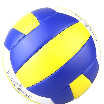New Competition Beach Pu Leather Volleyball Ball Soft Touch Sports Training