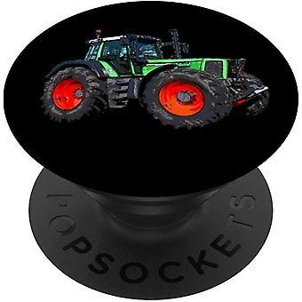 HanFei Trecker Traktor Bauer Schlepper Landwirtschaft PopSockets PopGrip: Ausziehbarer Sockel und