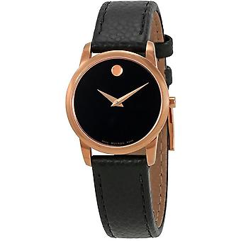 Movado Museum Leather Ladies Watch 0607061