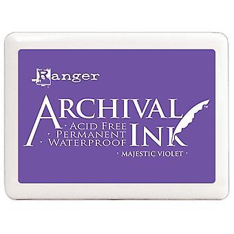 Archival Ink Pad - Jumbo - Majestic Violet - No.3