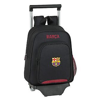 School Reppu pyörillä 705 F.C. Barcelona Musta