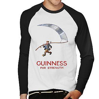 Guinness For Strength Men's Baseball Long Sleeved T-Shirt