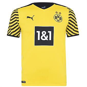 Puma Miesten Borussia Dortmund aito kotipaita 2021 2022 Jalkapallo Tee Top