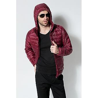 Portable Hooded Down, Ultraligh Winter Warm Thermal Jacket
