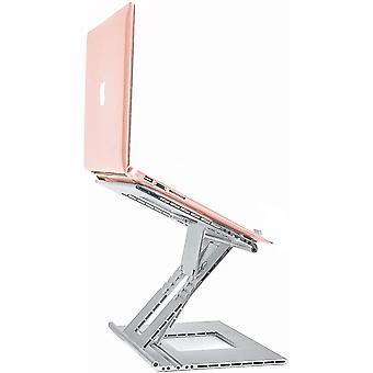 FengChun Laptopstnder Verstellbar mit Anti-Skip Haken, Aluminium Computerstnder fr Schreibtisch,