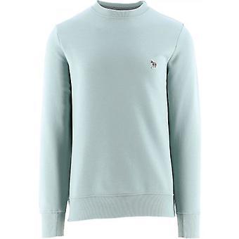 Paul Smith Green Regular Fit Zebra Logo Sweatshirt