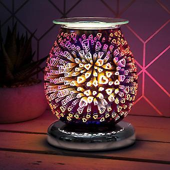 Önskan arom glödlampa lamphjärtan