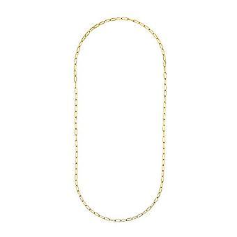 Amor - 925 Silber Y Damen Halskette vergoldet