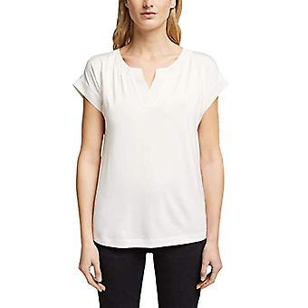 ESPRIT Collection 991EO1K305 T-Shirt, 110/white off, XL Donna