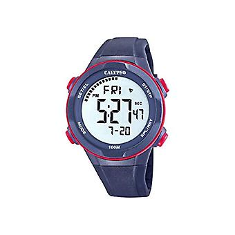Calypso Watches Digital Quartz Watch man with plastic strapping K5780/4