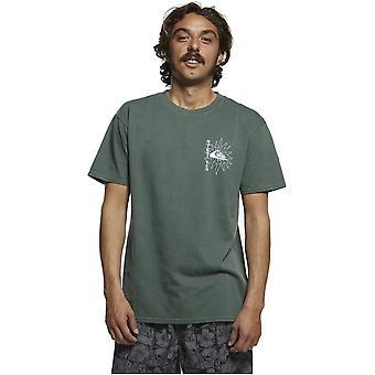 Quiksilver OG seremonielle kort ermet T-skjorte i Garden Topiary