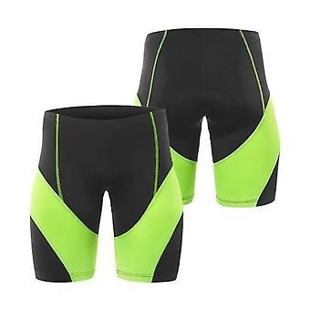 Män cykling vadderade shorts