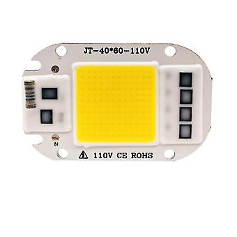 2Pcs 20w 110v暖かい白220v / 110v led軽いコブチップ、50w / 30w / 20w LEDランプビーズ az7492