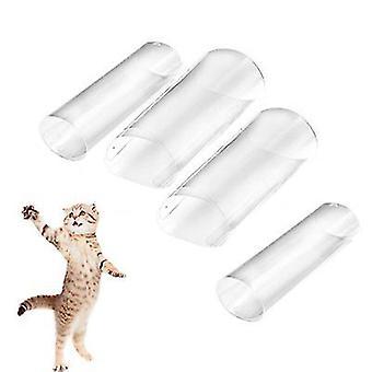 S 15 * 40cm 4 PCS القط الخدش حارس، أريكة المضادة للخدش حارس az20999