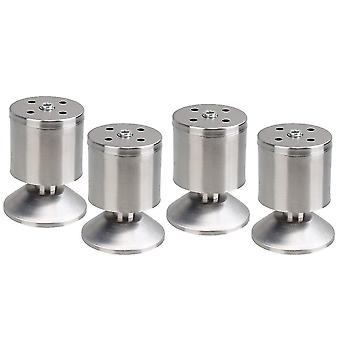 For 4pcs Stainless Steel Furniture Foot Leg Feet 50*80mm WS2767