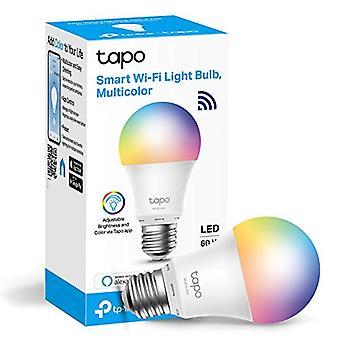 Tp-Link Tapo Smart Bulb, WiFi Smart Switch, E27, 8.7W, No Se requiere hub, Funciona con Amazon Alexa (Echo y Echo Dot) y Google Home, Cambiable de color (Tapo L530E) [Energy Class A+]