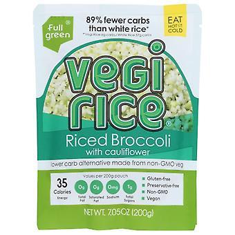 Fullgreen Riced Broccoli Cauliflwr, Case of 6 X 7.05 Oz