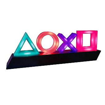 Led Music Night Light Ps4 Gaming Game Voice Control Icon Light