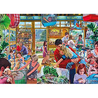 Gibsons Furry Friends Jigsaw Puzzle (500 XL Extra Large Pieces)