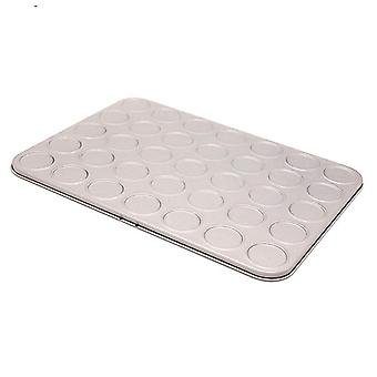 35 Capacity Macaron Backing Sheet Cookies Pan Carbon Steel Shallow Bakeware Tray