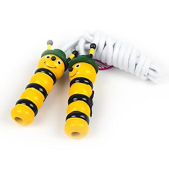Great Quality Buzzy Bumble Bee Skipping Rope - Traditional Wooden Toy