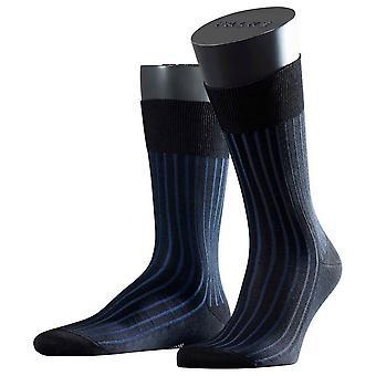 Chaussettes Falke Shadow - noir/bleu