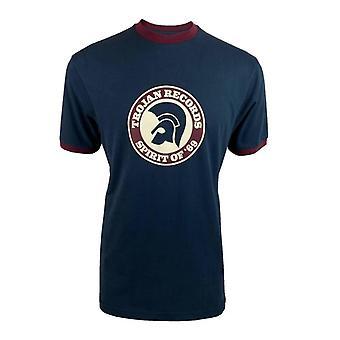 Trojan Spirit Of '69 Logo T-Shirt TC/1006 - Navy