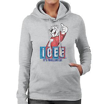 ICEE Its Frozenated Women's Hooded Sweatshirt