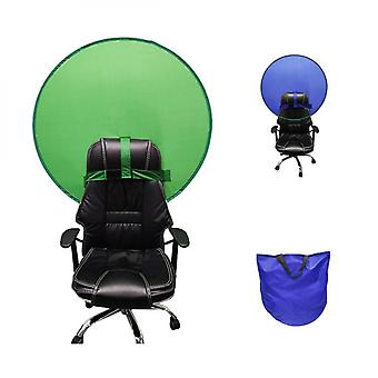 Portable Green Screen With Hook Strap For Chair