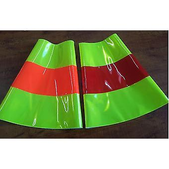 Reflective Road Cone Pvc Traffic Safety Protective Warning Sleeve