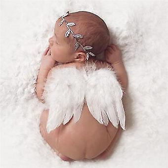 Angel Wings Feather Wings Vauvan kukka Oliivipanta, 0-6 kuukautta