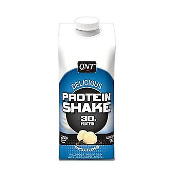 QNT Delicious Whey Shake 100% Pure Whey Protein (30g) (Vanilla) 12 X 330ml