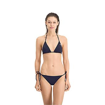 Puma Womens Triangle Bikini Top Halterneck Swimming Beachwear Swimwear