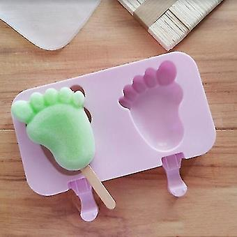 Ice pops contemporary style silicone ice sickle lolly molds 04
