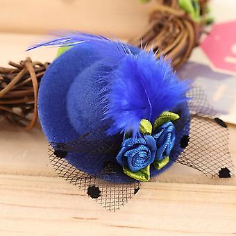 Cute Children Kid Girl Mini Hat Style Head Hair Clip Party Decor Accessories