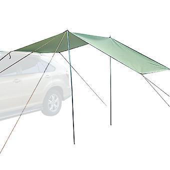 Auto luifel parasol waterdichte zonnebrandcrème en winddichte 5-6 persoons draagbare kampeertent voor diverse buitenactiviteiten