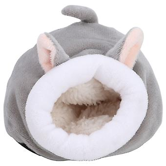 Mini Cute Cotton Warm Pet Hedgehog Sleeping Nest Small Animal Squirrel House Cage Toy