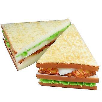 Mesterséges kenyér Hamis kenyér Szimuláció Élelmiszer modell Konyha Kellék, Szendvics Konyhai Toy Food Desszert
